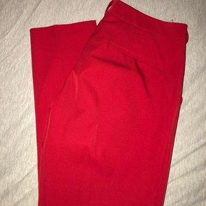 Worthington Red slacks